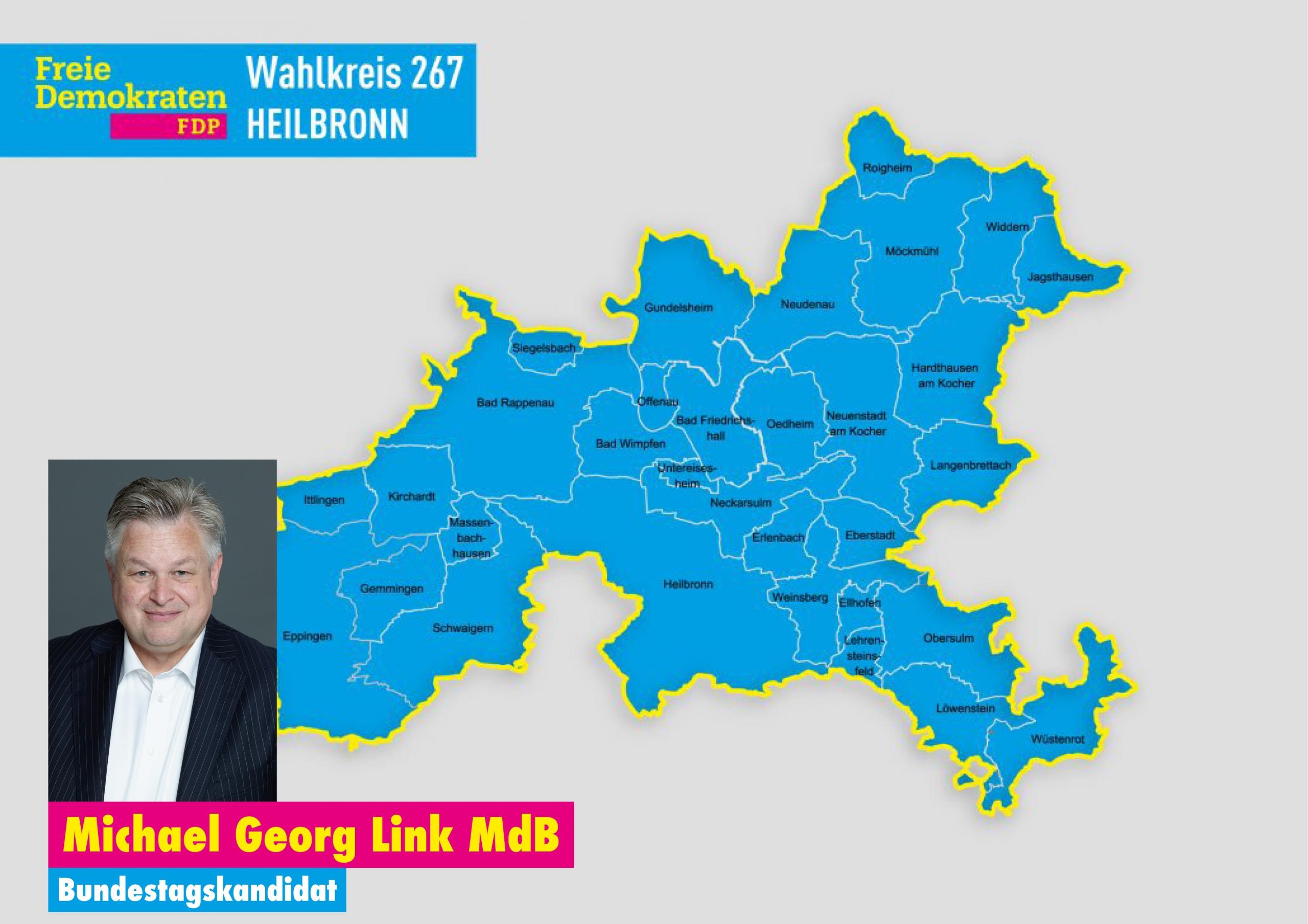 Wahlkreis Bundestagswahl 2021